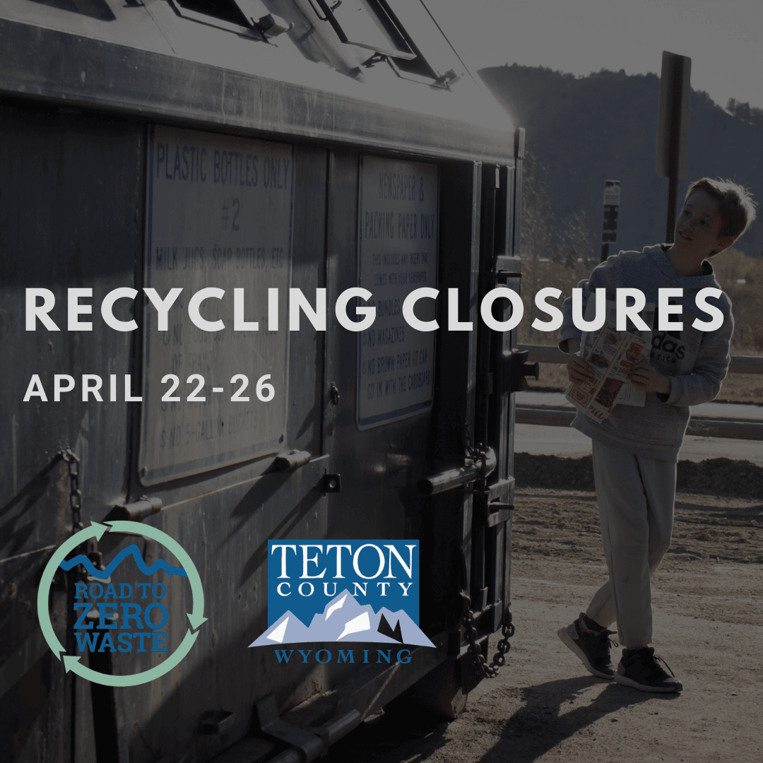 Recycling Closures April 22-26 SM