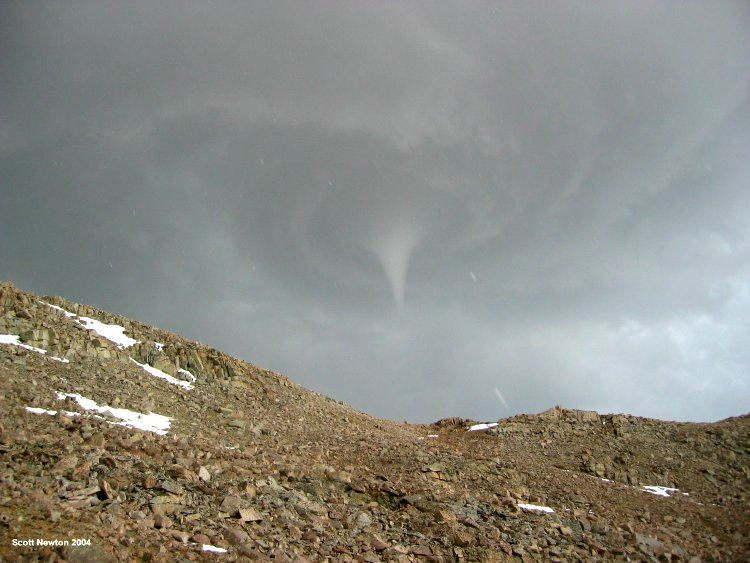 Tornado in Sequioa National Park